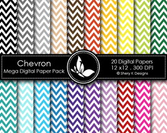 Kit Scrapbook Chevron 60