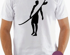 Camiseta Surfista Perfil Surf Hawaii