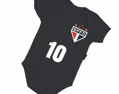 3b8e293c80 ... Body Infantil Bebê São Paulo Futebol Bore - Mega Promoção!