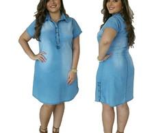 514955bb5 Roupas Femininas Vestido Jeans Plus Size Vestido Plus Size no Elo7    Brunellys (E27803)