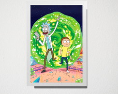 Quadro rick and morty