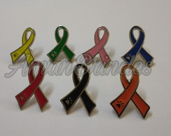 Pin/ Broche Laço Pet animal diversas cores