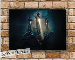 Placa decorativa Stranger Things