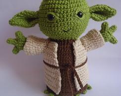 PDF :: Mestre Yoda estilo ragdoll - Casal Crochê | 194x244