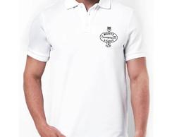 ... Camisa Branca Algodão - 5 Und 5e8615af5afca