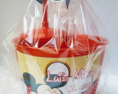 Kit Cinema Mickey com Copo
