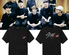 Camiseta Stray Kids Kpop