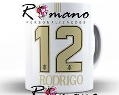 4123bdac6 ... Caneca Porcelana Camisa Corinthian.s Ayrton Senna Branca