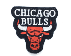 Patch Bordado Termocolante Time Basquete Chicago Bulls