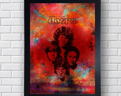 Quadro Poster Banda The Doors