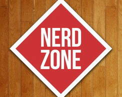 Placa Decorativa - Nerd Zone
