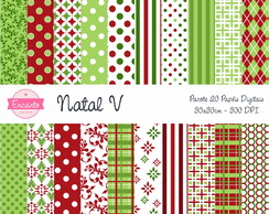 Kit Papel Digital - Natal V