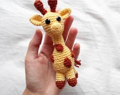 Girafa Nessa Amigurumi | 194x244
