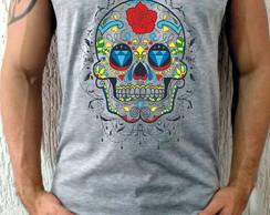 Camiseta Regata Caveira Mexicana  576482229f9