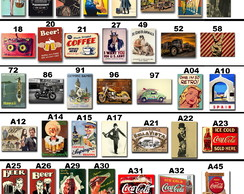Placas decorativas retro-vintage-Bar-Cerveja
