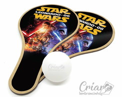 Kit Raquete de Ping Pong - Star Wars
