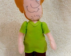 Boneco decorativo Salsicha do Scooby-Doo