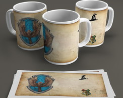 Caneca Escola Cornival - Harry Potter