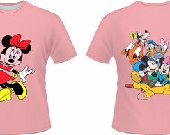 Camiseta Disney Minnie Rosa