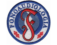 Patch Bordado - Simbolo Fonoaudiologia AP00002