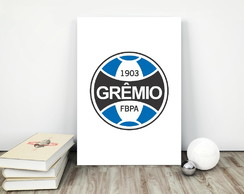 Placa decorativa 15x20cm Grêmio