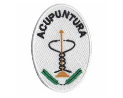 Patch Bordado -Simbolo Acupuntura AP00003