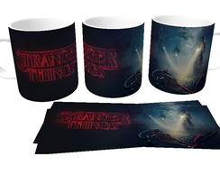 Caneca de Porcelana Stranger Things