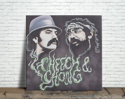 Azulejo Decorativo - Cheech Chong