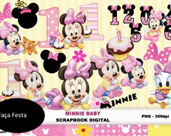 Elementos Digital Minnie Baby