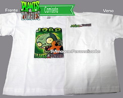 Camiseta Plants vs zombie