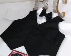... Colete Esporte Fino infantil Masculino e gravata b55d6b33d3210