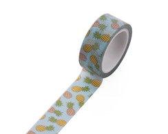 Washi Tape - Abacaxi Tropical