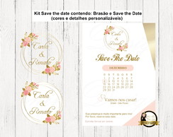 Arte Digital - Brasão + Save The Date