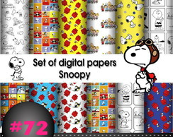 Kit digital Snoopy #72