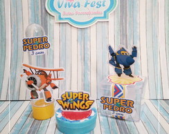 Kit Lembrancinhas - Super Wings