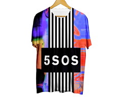Camiseta Fashion Youngblood - 5 Seconds Of Summer