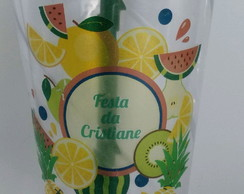 Copos Twister 500 ml Festa Tropical