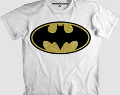 Camisa LOGO DO BATMAN PURPURINADO