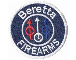 Patch Bordado - Marca Beretta Firearms DV80074