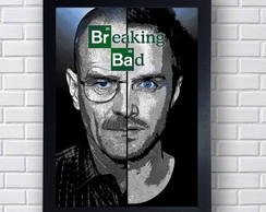 Quadro Breaking Bad Cristal Heisenberg