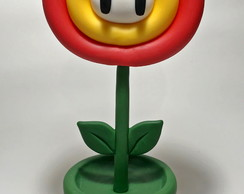 Fire Flower Do Jogo Do Mario Bros - Geek Nerd