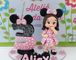 Mini Topo Minnie rosa.