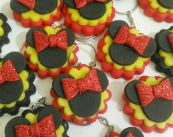 Chaveiro Minnie Biscuit