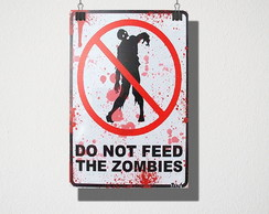 Poster A3 Zombies