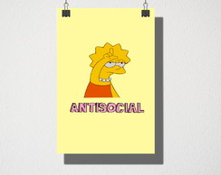 Poster A3 Antisocial