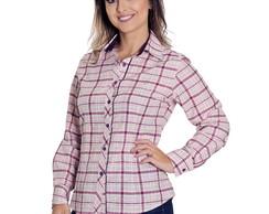 b14c50407d ... Camisa Social Xadrez Feminina Tessa - Pimenta Rosada