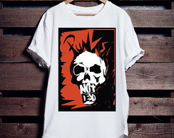 Camiseta Longline Rock N Roll