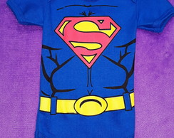Body fantasia Superman bebê