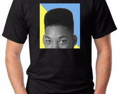 Camiseta Camisa will smith moda instagram preto