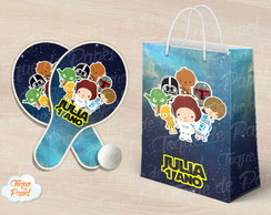 Kit Ping Pong sacola Star Wars